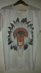 'Indian Chief' lion full print tee